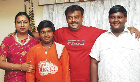 VijayKanth family